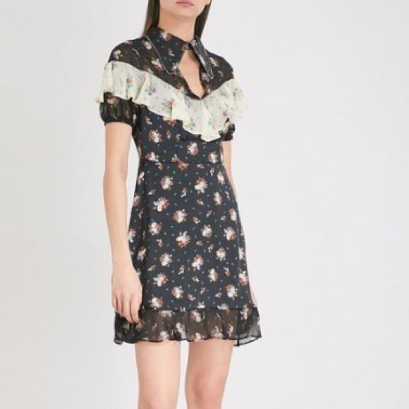Topshop Dresses & Skirts - TOPSHOP Rodeo Frill Western Skater Dress NWOT